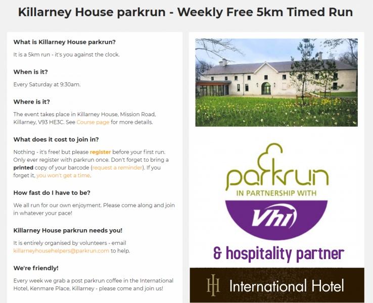 a_new_design | Killarney Park Run