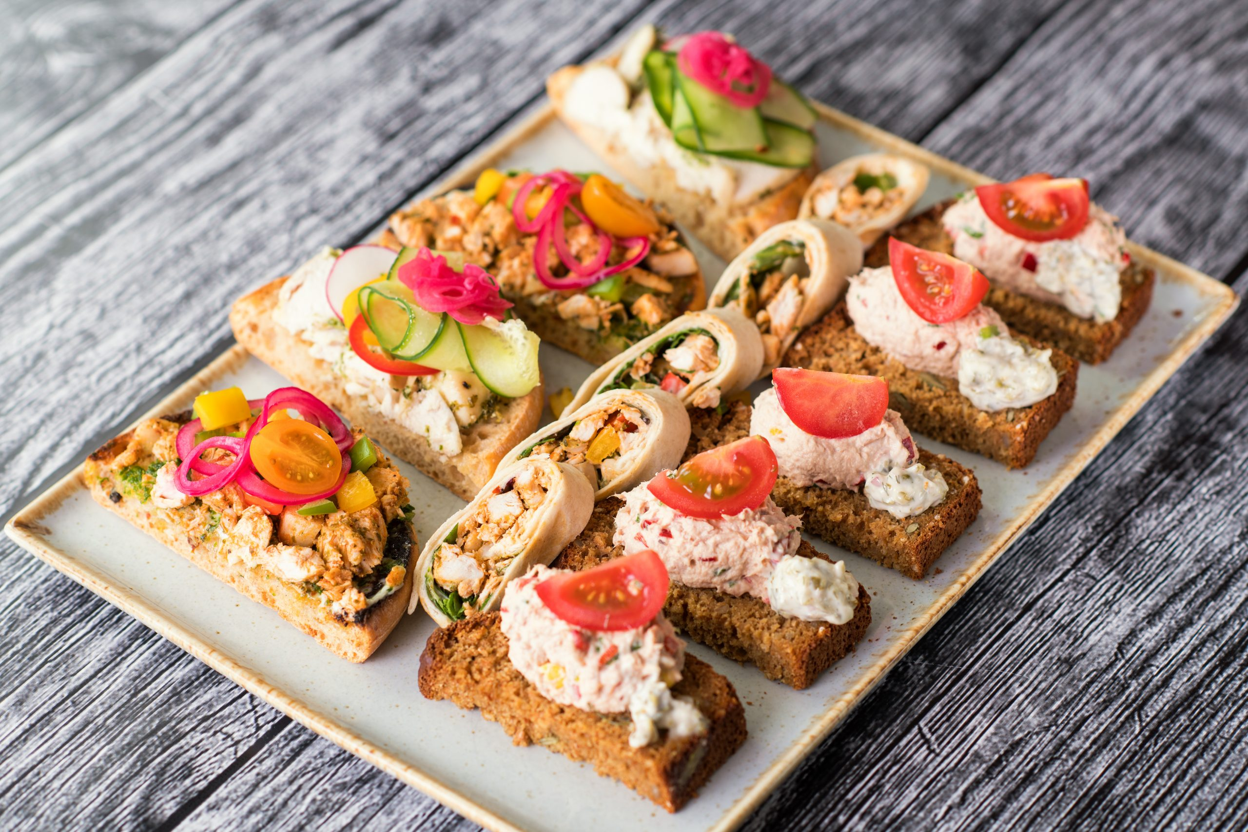 Food-Canapes-Selection-scaled | Wedding Gallery